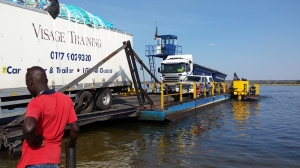 Kazangula Ferry